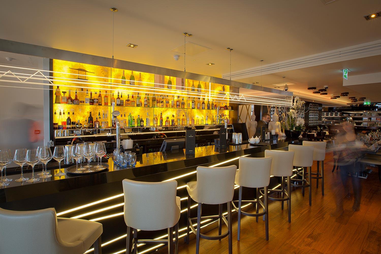 Asian restaurant interior design chaophraya jmda ltd for Interior design agency edinburgh